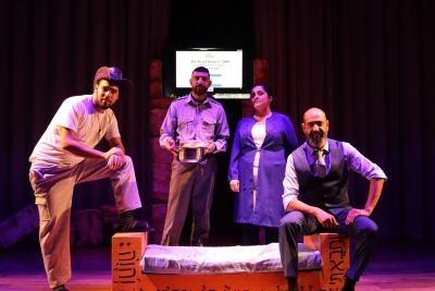 """Hazbara"" play at The Arab American University"