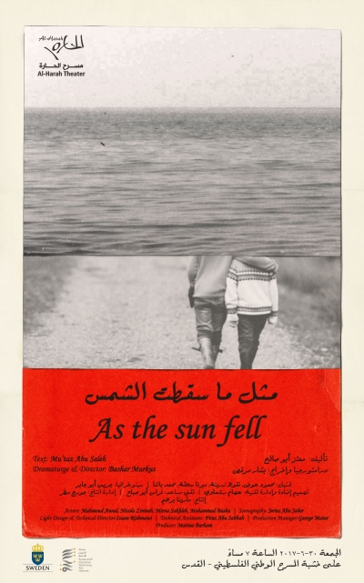 """As the Sun Fell"" Play in Jerusalem"