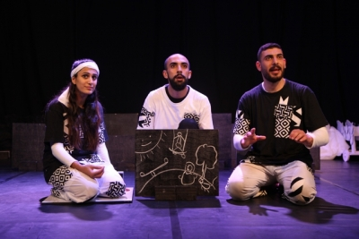 """Hetalieh"" Play at The Freedom Theater - Jenin Camp"